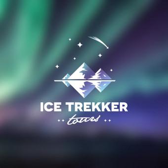Ice trekker tour - asmeninio gido Islandijoje logotipas       Logotipų kūrimas - www.glogo.eu - logo creation.