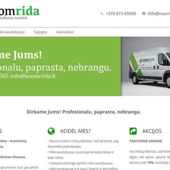 Svetainių kūrimas, priežiūra, reklama / Svetainių kūrimas, priežiūra, reklama / Darbų pavyzdys ID 348839