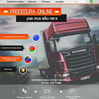 Svetainių kūrimas, priežiūra, reklama / Svetainių kūrimas, priežiūra, reklama / Darbų pavyzdys ID 348859