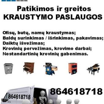 Kraustymo paslaugos / ''Bustkaita / Darbų pavyzdys ID 349095