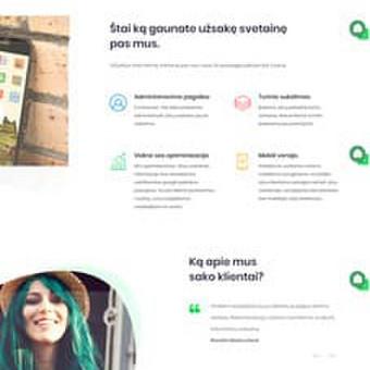 #1 Interneto svetainių, bei parduotuvių kūrimas,  SEO / Jonas Urbonas / Darbų pavyzdys ID 349605