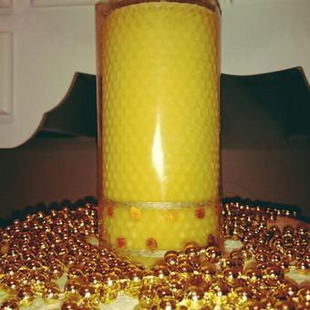 Lietuvių gamybos rankų darbo žvakės / Žvakių Ateljė / Darbų pavyzdys ID 349865
