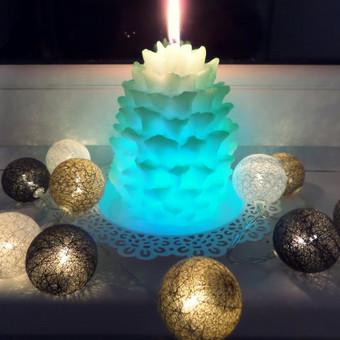 Lietuvių gamybos rankų darbo žvakės / Žvakių Ateljė / Darbų pavyzdys ID 349873