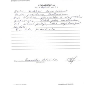 Sertifikuota Nekilnojamojo turto brokerė Vilniuje / Renata Lapinskienė / Darbų pavyzdys ID 350581