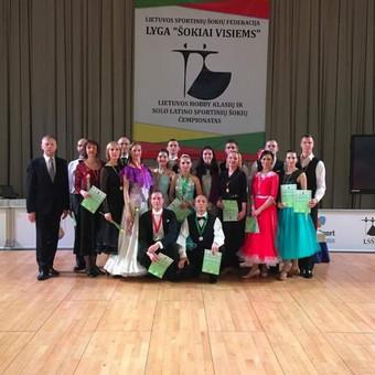 Lotynų Amerikos ir Europos šokiai / Meda Bagušinskė / Darbų pavyzdys ID 350949