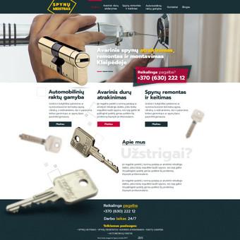 WEB / GRAFIKOS dizaineris / Ernestas Martinkus / Darbų pavyzdys ID 351131