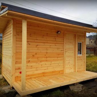 Mediena, medienos gaminiai ir pirtys. / Lina Kontautienė / Darbų pavyzdys ID 351573