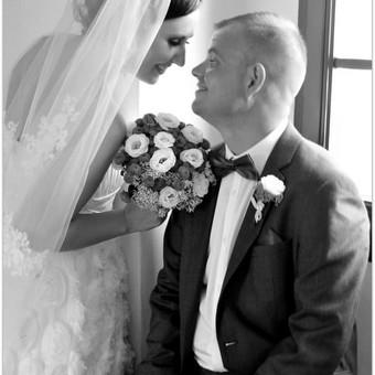 Vestuvių filmavimas+fotosesija gamtoje,bažnyčioje. / Rolandas Griškus / Darbų pavyzdys ID 351849