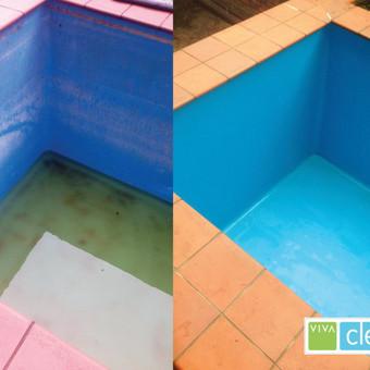Kokybiškas baseinų valymas