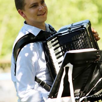 Profesionali akordeono muzika / Romas Morkūnas / Darbų pavyzdys ID 352431