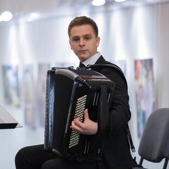 Profesionali akordeono muzika / Romas Morkūnas / Darbų pavyzdys ID 352433