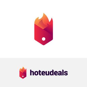 hoteudeals |   Logotipų kūrimas - www.glogo.eu - logo creation.