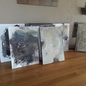 Dideli tapybos paveikslai interjerui Kainos nuo 200 € / Dalia Kirkutienė / Darbų pavyzdys ID 354553