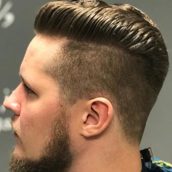 Vyriški kirpimai,barzdų modeliavimas,skutimas. / Loreta / Darbų pavyzdys ID 355733