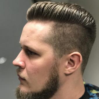 Vyriški kirpimai,barzdų modeliavimas,skutimas. / Loreta / Darbų pavyzdys ID 355735