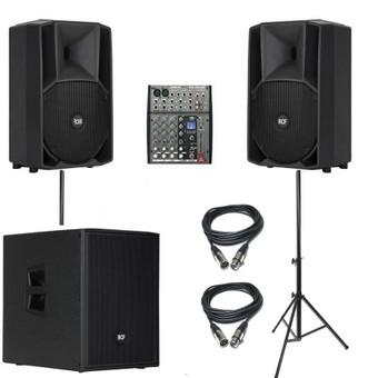 Dj garso aparatūros, kolonėlių ir šviesos efektų nuoma / Vytaras Zeicas / Darbų pavyzdys ID 356519