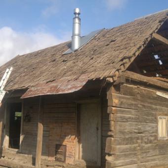 Karkasiniu namu statyba remontas  renovavimas Stogu dengimas / ovidijus / Darbų pavyzdys ID 357511