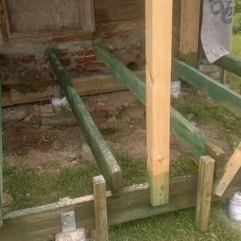 Karkasiniu namu statyba remontas  renovavimas Stogu dengimas / ovidijus / Darbų pavyzdys ID 357527