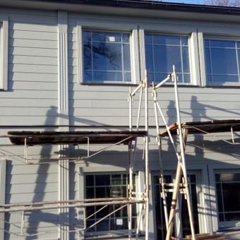 Senu mediniu namu renovacija,rekonstrukcija / Aivaras / Darbų pavyzdys ID 357805