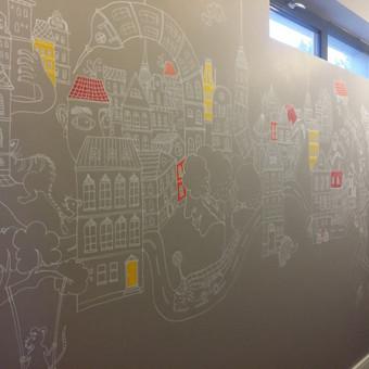 Sienų tapyba, grafika. Piesiniai ant sienu / Julija Janiulienė / Darbų pavyzdys ID 357981