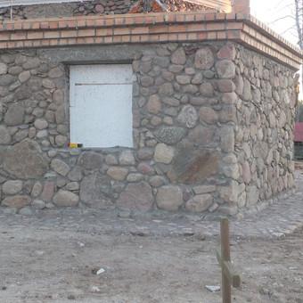 Akmenskaldys zidiniu meistras akmenu apdaila / Vidmantas Kazlauskis / Darbų pavyzdys ID 358369