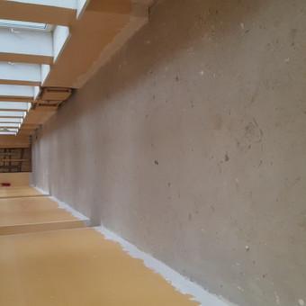 Tarkett (pvc)  ir  epoksidinių liejamos grindų dengimas. / Robertas Busnevas / Darbų pavyzdys ID 358485