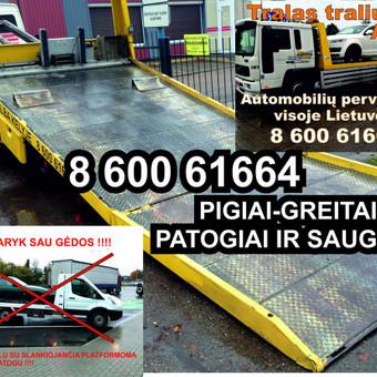 Technine Pagalba  kelyje automobilių pervežimas / Arunas Einingis / Darbų pavyzdys ID 358489