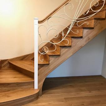 Laiptų gamyba ir projektavimas / UAB Wood Step / Darbų pavyzdys ID 294373