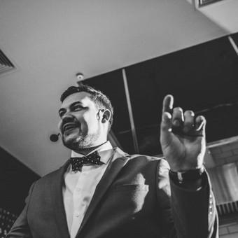 Jūsų šventės vedėjas - IGNAS BASIJOKAS ir DJ komanda / Ignas Basijokas / Darbų pavyzdys ID 362283