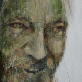 Parduotas darbas. Viliaus Orvido portretas. Drobė, akrilas, aliejus. 2014m. Paveikslą įsigijo kolekcionierius iš JAV, Mineapolio, Minesota.