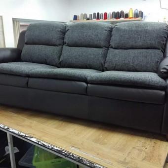 Minkštų baldų remontas, sėdynių siuvimas / RESTAauto / Darbų pavyzdys ID 363697