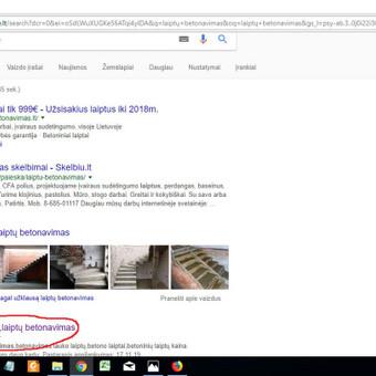 Svetainės statybininkams TELEFONU, SEO optimizavimas. / Georgijus Jemeljanovas / Darbų pavyzdys ID 363945