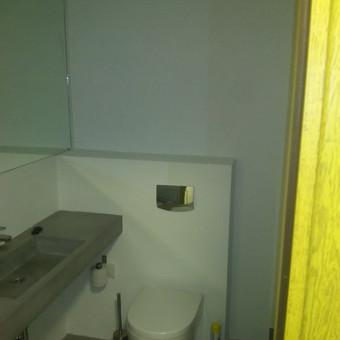 Potinkinio wc montavimas + apsiuvimas ir nudažymas