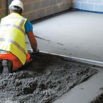 Grindų betonavimas / Šildomų grindų betonavimas / Dangiras / Darbų pavyzdys ID 367641