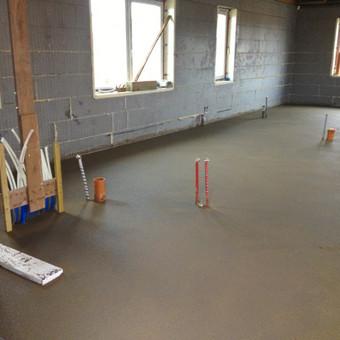 Grindų betonavimas / Šildomų grindų betonavimas / Dangiras / Darbų pavyzdys ID 367643