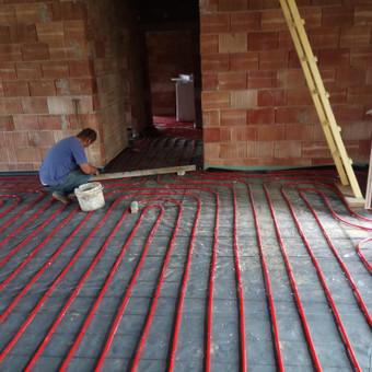 Grindų betonavimas / Šildomų grindų betonavimas / Dangiras / Darbų pavyzdys ID 367649