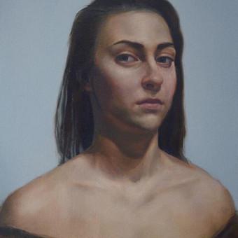 Profesionali portretų tapyba / Justinas Krasuckas / Darbų pavyzdys ID 367663