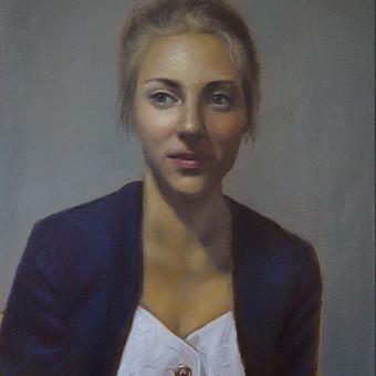 Profesionali portretų tapyba / Justinas Krasuckas / Darbų pavyzdys ID 367665