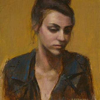 Profesionali portretų tapyba / Justinas Krasuckas / Darbų pavyzdys ID 367667