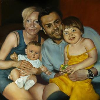 Vestuvių, krikštynų, gimtadienių portretų tapyba / Justinas Krasuckas / Darbų pavyzdys ID 367669