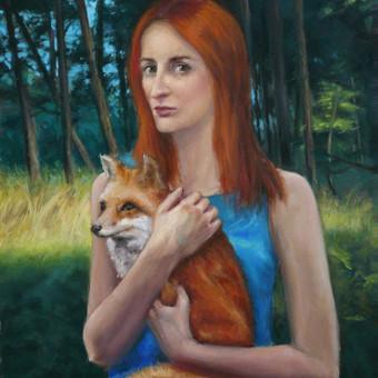 Profesionali portretų tapyba / Justinas Krasuckas / Darbų pavyzdys ID 367673