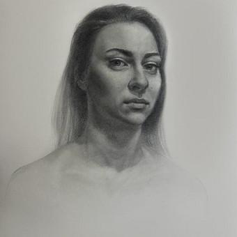 Profesionali portretų tapyba / Justinas Krasuckas / Darbų pavyzdys ID 367677