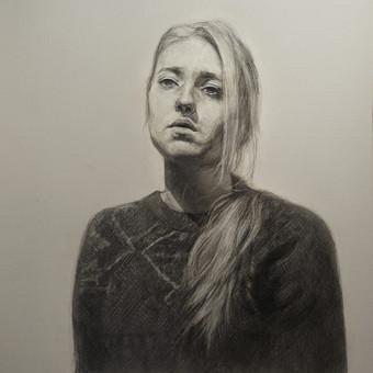 Profesionali portretų tapyba / Justinas Krasuckas / Darbų pavyzdys ID 367681