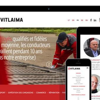 Reprezentacinė svetainė (WWW.VITLAIMA.LT)