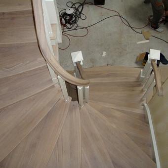 Laiptų gamyba ir projektavimas / UAB Wood Step / Darbų pavyzdys ID 369597