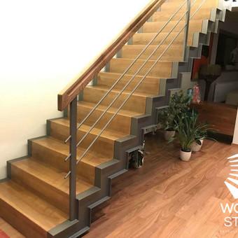 Laiptų gamyba ir projektavimas / UAB Wood Step / Darbų pavyzdys ID 369615