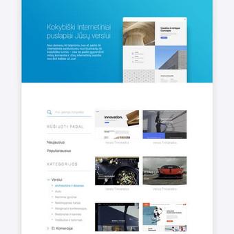 Web ir Grafikos Dizainas / WordPress Svetainės / Artūras Aranin / Totus Studio / Darbų pavyzdys ID 369983