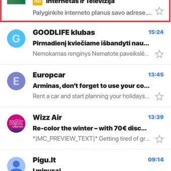 Google AdWords Reklama (Google Ads) / Arminas Ubartas / Darbų pavyzdys ID 371413