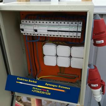 Varžų matavimai, elektros darbai,apsaugos sistemos / Vilmantas Kutka / Darbų pavyzdys ID 371731