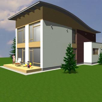 Architektūriniai projektai / Vytautas Marcinkevičius / Darbų pavyzdys ID 371955
